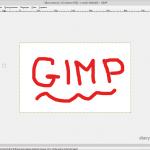 Как сохранить картинку в GIMP