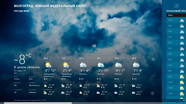 windows 8 приложение